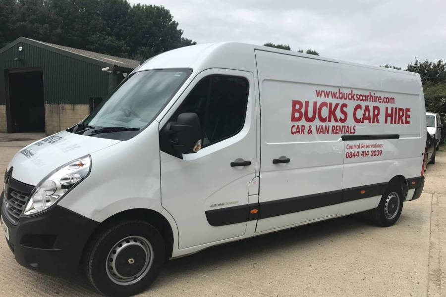 RENAULT MASTER LM35  DCI Vehicle Hire Deals from Bucks Car Hire