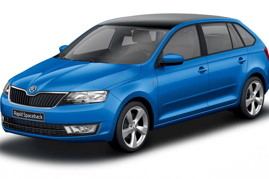 SKODA RAPID SPACEBACK TSI DSG Car Hire Deals