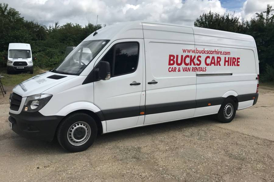 MERCEDES SPRINTER 313 CDI XLWB Vehicle Hire Deals from Bucks Car Hire