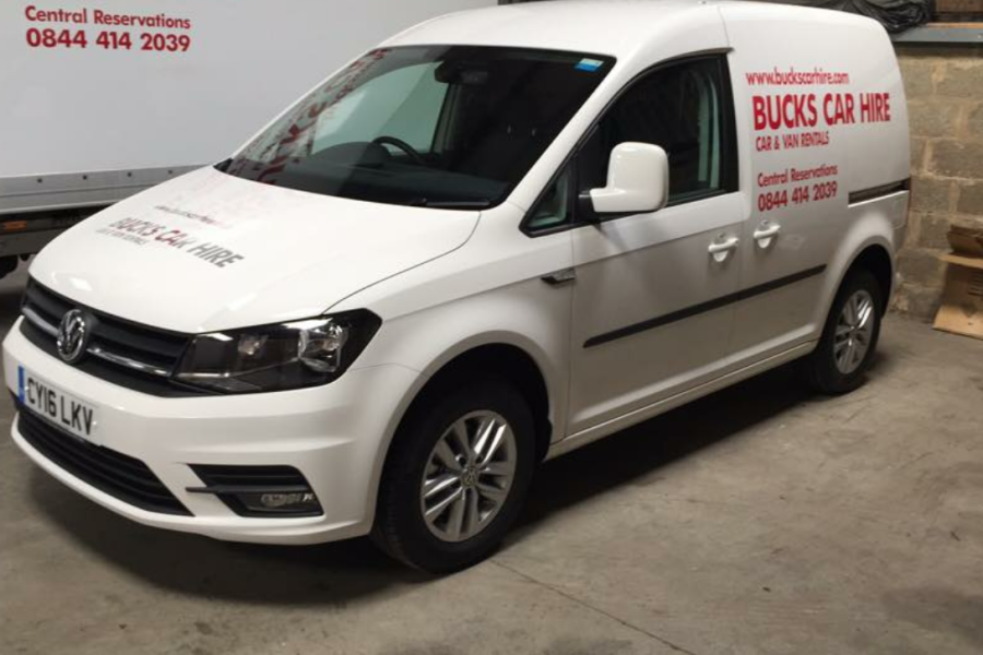 VOLKSWAGEN CADDY C20 TDI DSG Vehicle Hire Deals from Bucks Car Hire